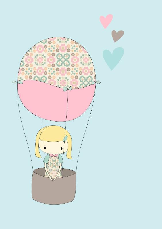 Verjaardagskaarten - Verjaardagskaart Ballon