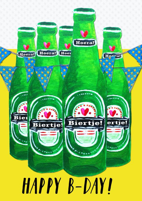 Verjaardagskaarten - Verjaardagskaart Biertje PA