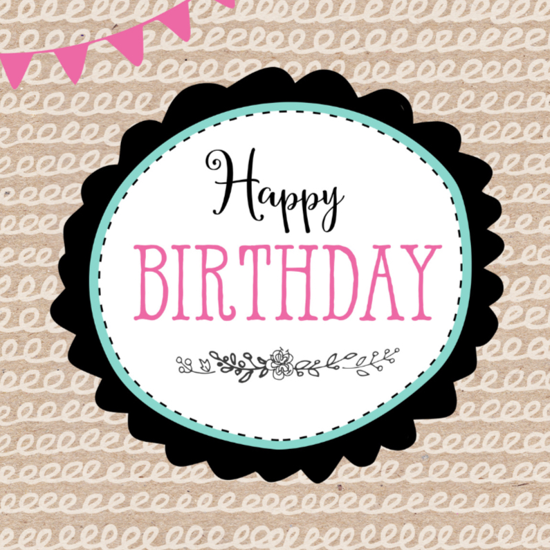 Verjaardagskaarten - Verjaardagskaart Bloem 99