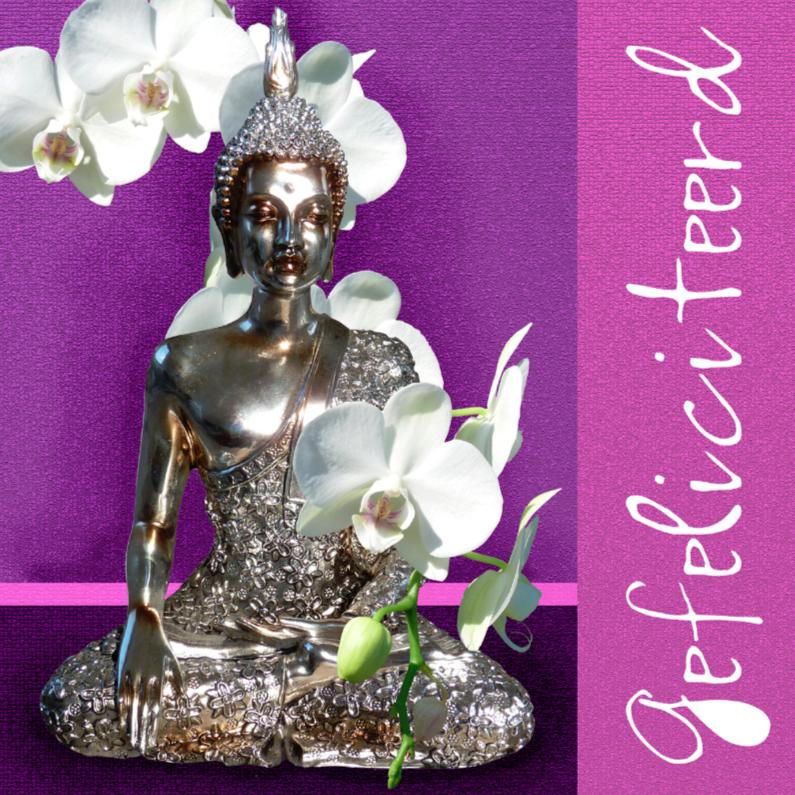 Verjaardagskaarten - Verjaardagskaart Boeddha Gautama