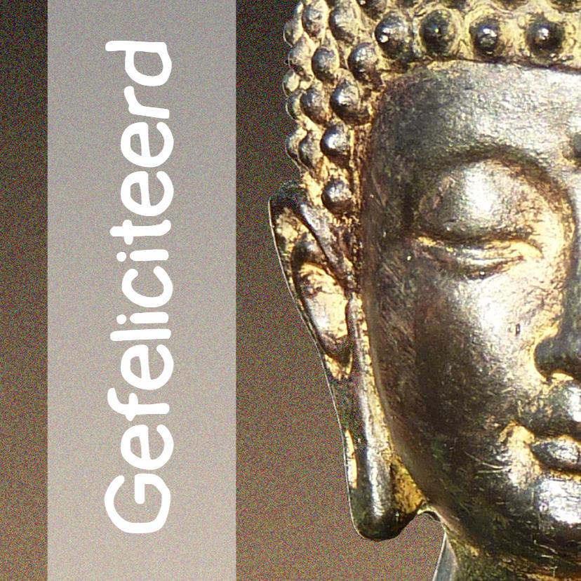 Verjaardagskaarten - Verjaardagskaart Boeddha