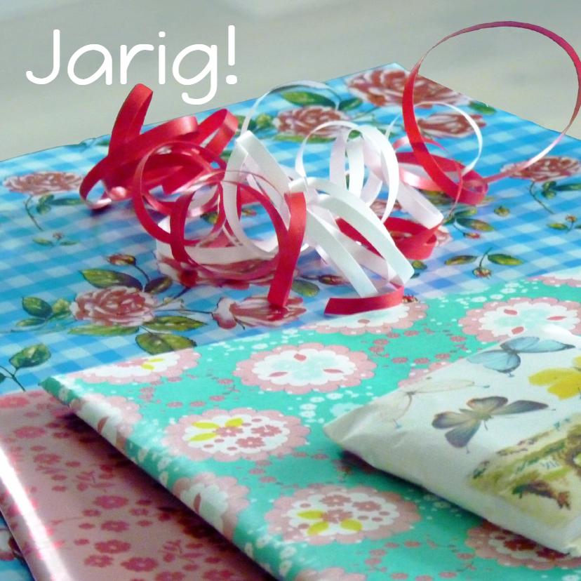 Verjaardagskaarten - Verjaardagskaart cadeautjes