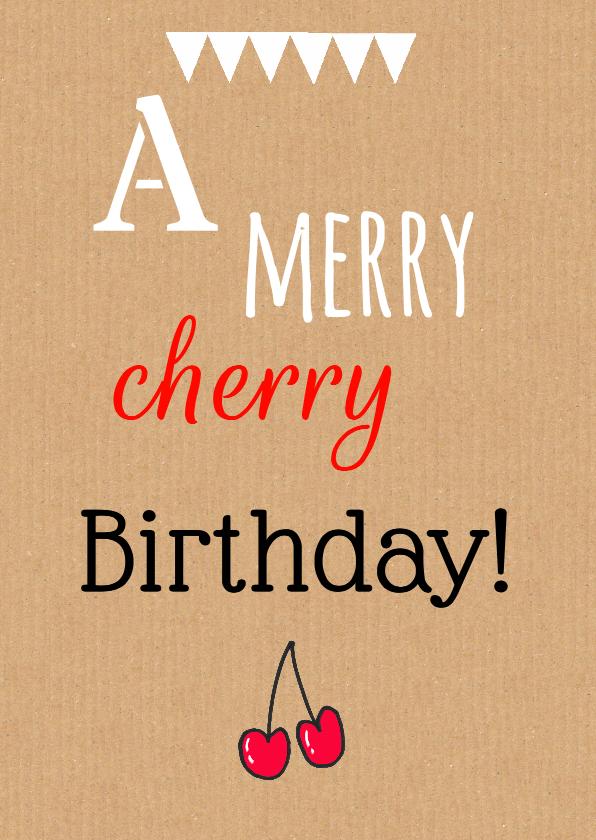 Verjaardagskaarten - Verjaardagskaart felicitatie