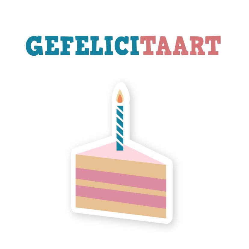 Verjaardagskaarten - Verjaardagskaart Geflicitaart ME