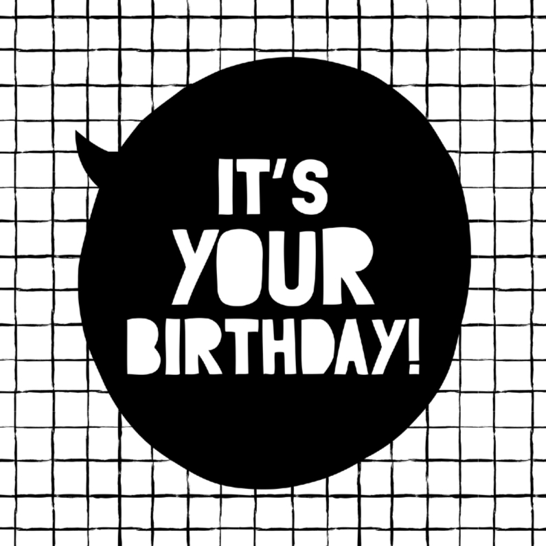 Verjaardagskaarten - Verjaardagskaart Gird Birthday
