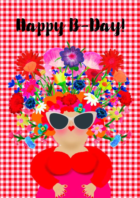 Verjaardagskaarten - Verjaardagskaart HappyB PA