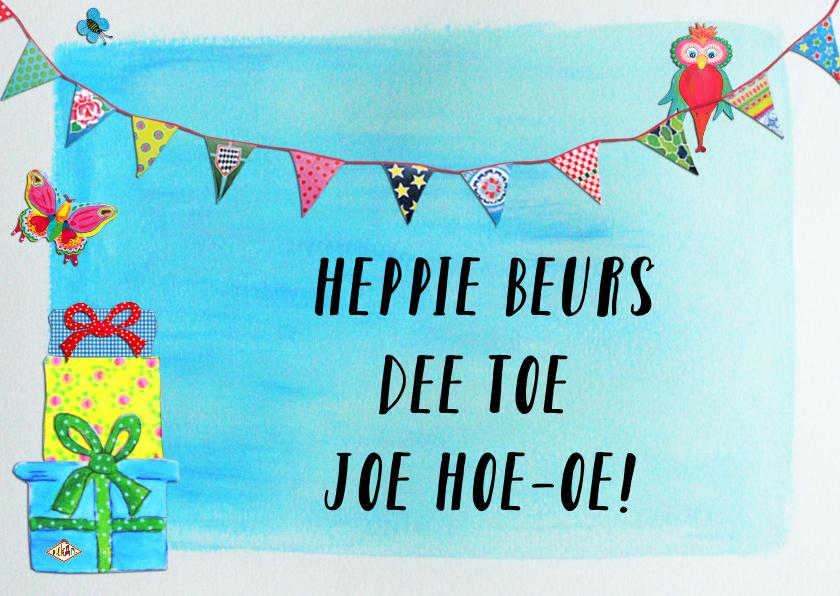 Verjaardagskaart Heppie J PA 1