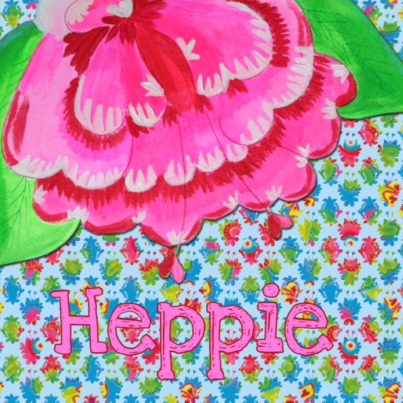Verjaardagskaarten - Verjaardagskaart Heppie PA