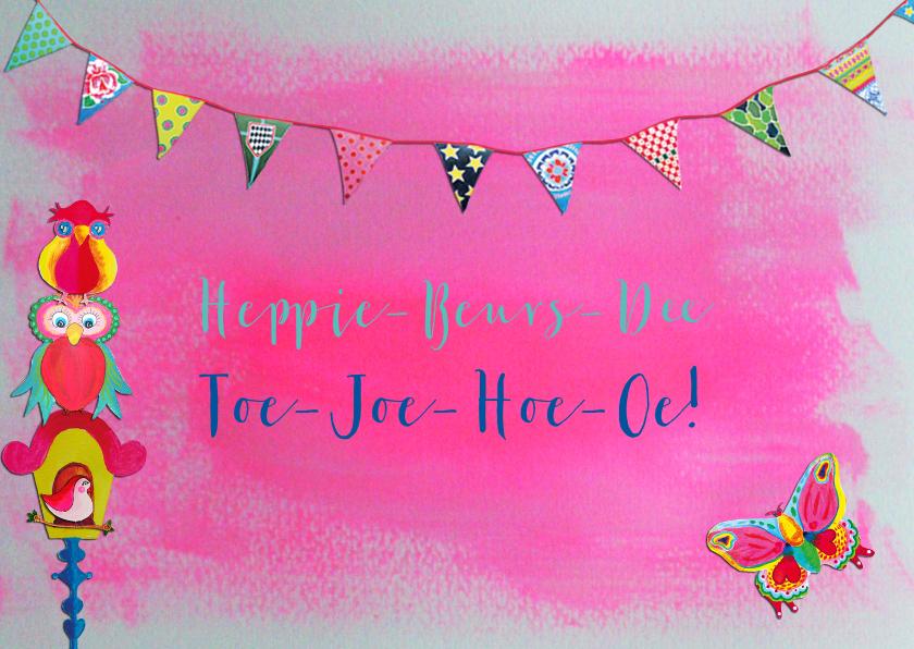 Verjaardagskaarten - Verjaardagskaart Heppie R PA
