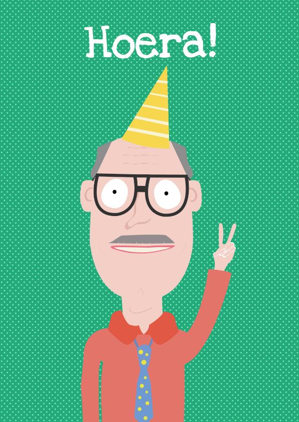 Verjaardagskaarten - Verjaardagskaart Hoera Harry