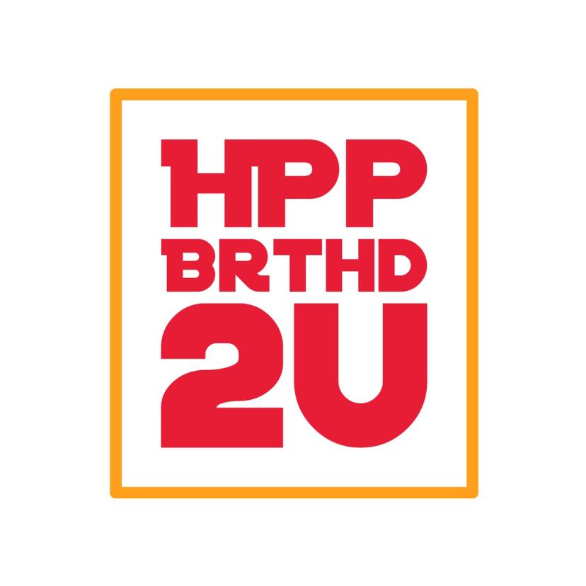 Verjaardagskaarten - verjaardagskaart HPP -LB