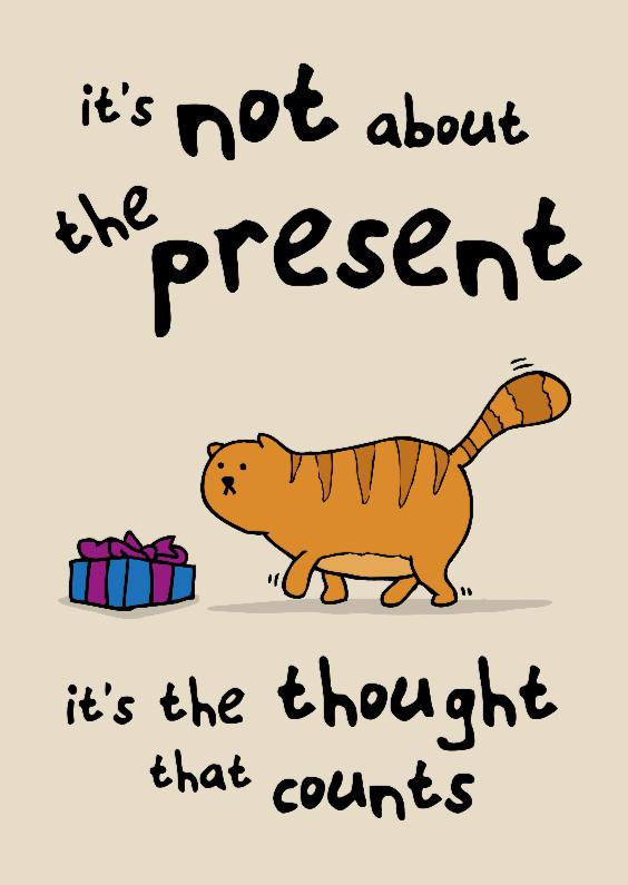 Verjaardagskaarten - Verjaardagskaart It's the box