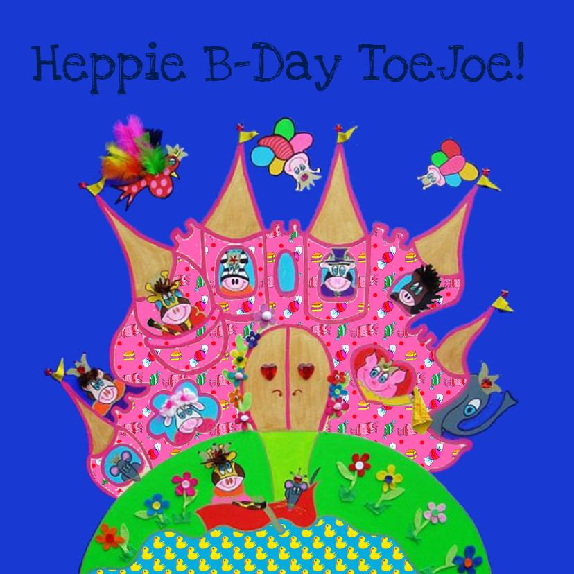 Verjaardagskaarten - Verjaardagskaart Kasteel PA