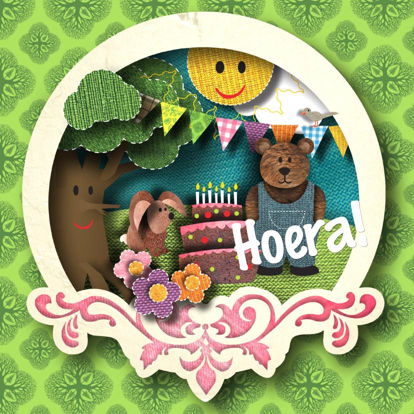 Verjaardagskaarten - Verjaardagskaart - Kind
