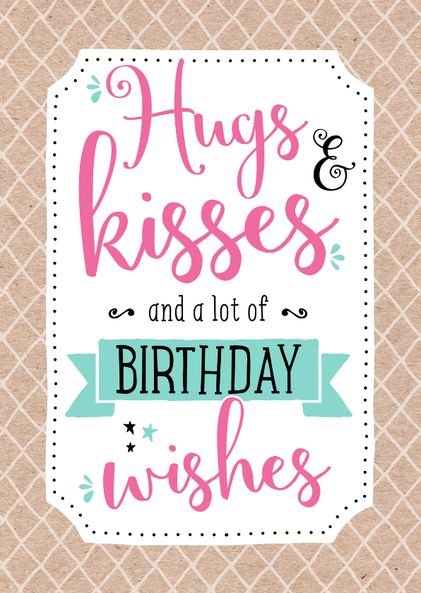 Iets Nieuws Verjaardag Hippe Vrouw | Verjaardag &IB58
