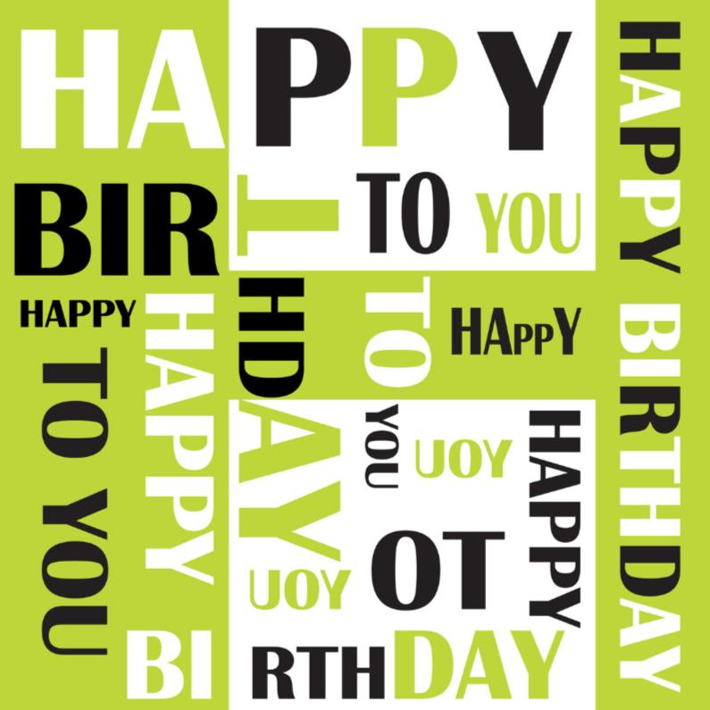Verjaardagskaarten - Verjaardagskaart LB 04