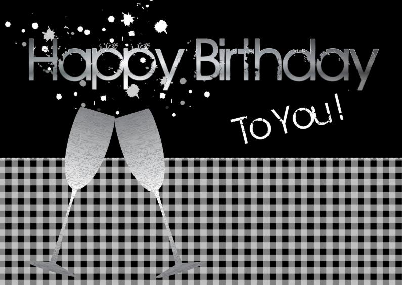 Verjaardagskaarten - Verjaardagskaart LB 12