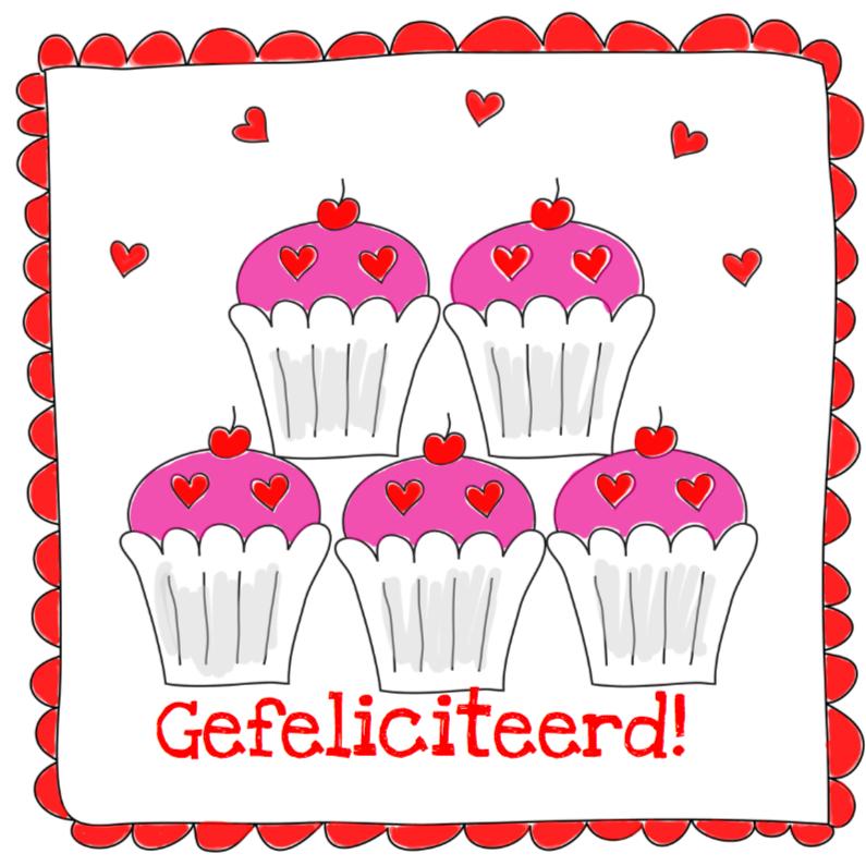 Verjaardagskaarten - Verjaardagskaart LB 21