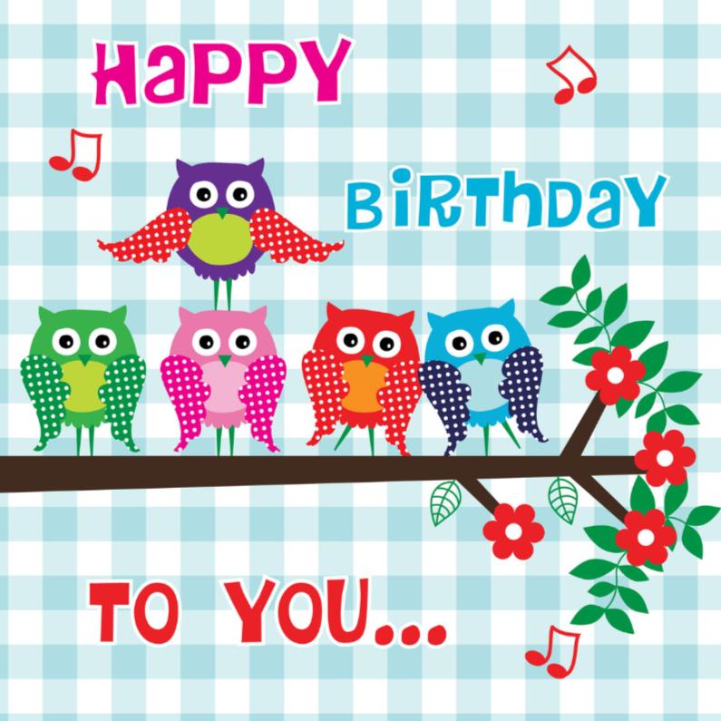 Verjaardagskaarten - Verjaardagskaart LB 27