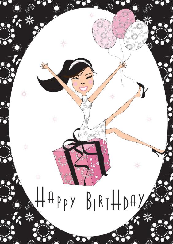 Verjaardagskaarten - Verjaardagskaart LB 39