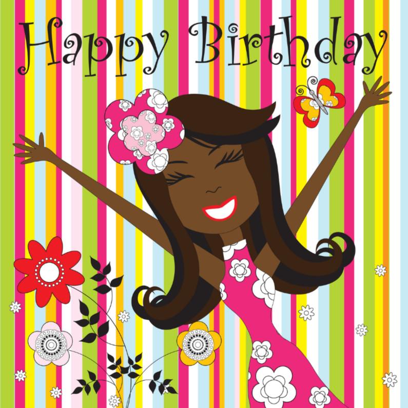 Verjaardagskaarten - Verjaardagskaart LB44
