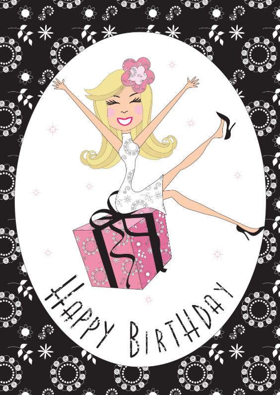 Verjaardagskaarten - Verjaardagskaart LB45