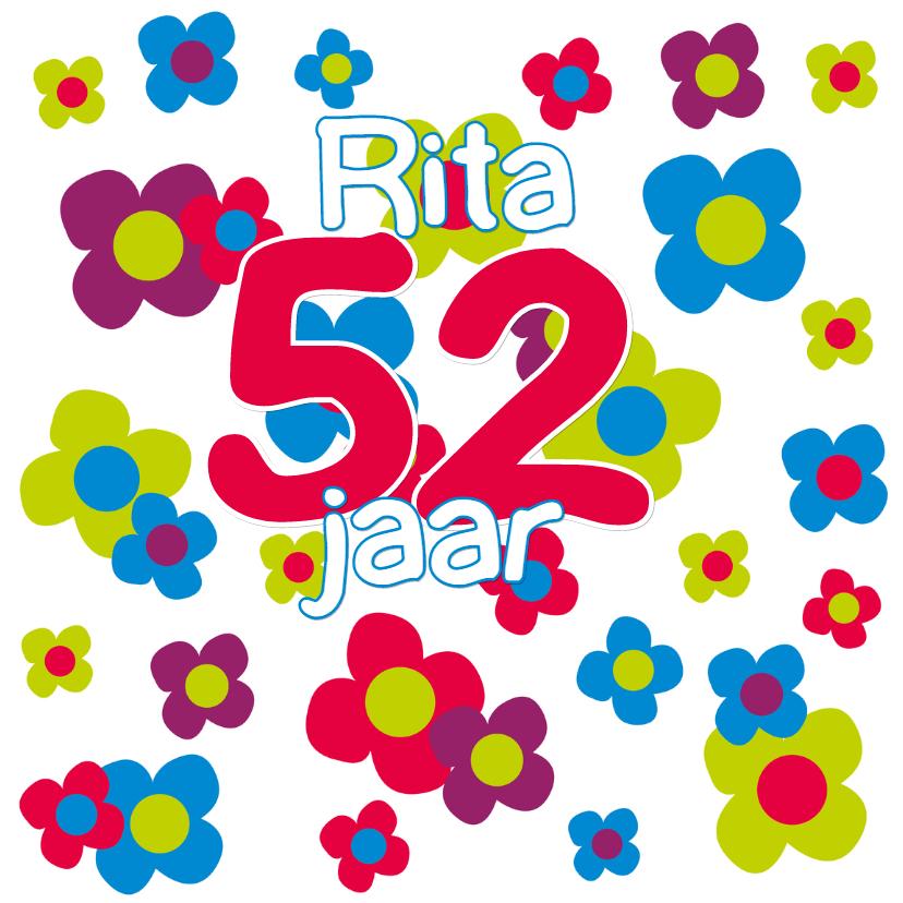 Verjaardagskaarten - Verjaardagskaart leeftijd - SZ
