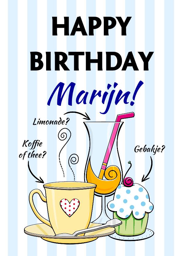 Verjaardagskaarten - Verjaardagskaart of toch een biertje?