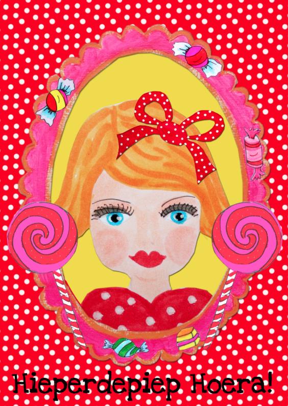 Verjaardagskaarten - Verjaardagskaart Prinses PA