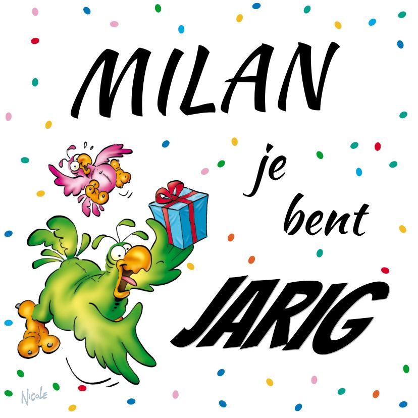 Verjaardagskaarten - Verjaardagskaart Rocco met cadeau-RN