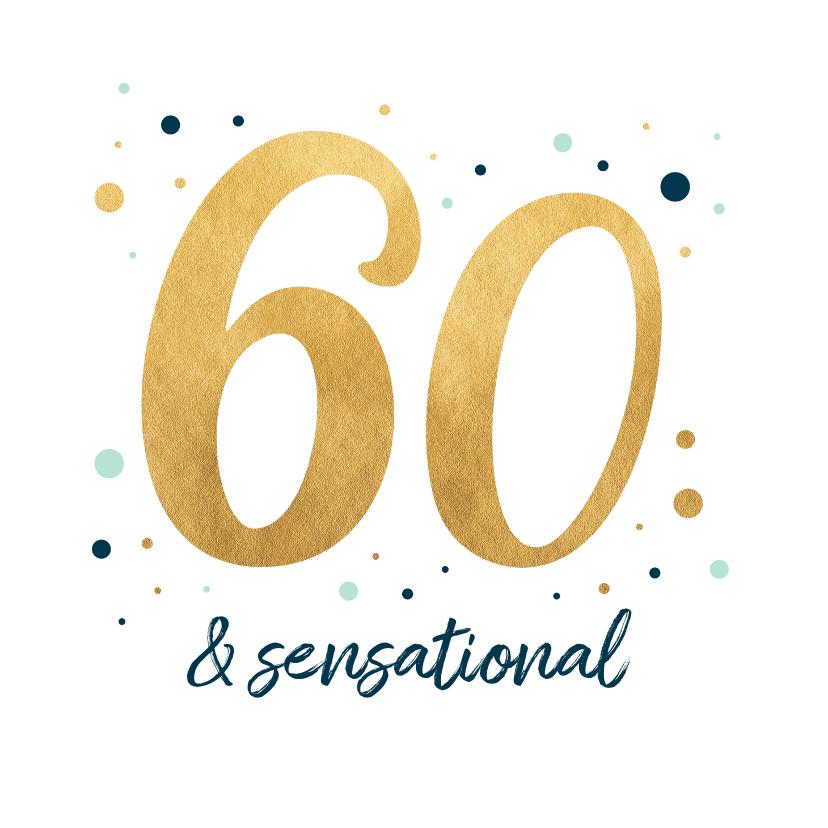 Verjaardagskaarten - verjaardagskaart sensational