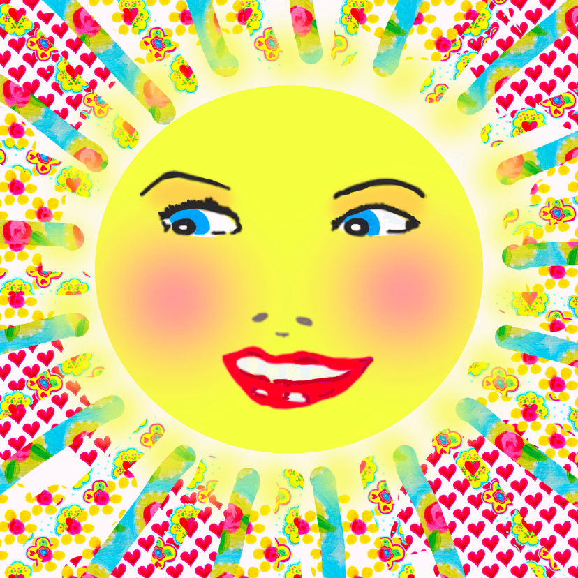 Verjaardagskaarten - Verjaardagskaart Smile PA