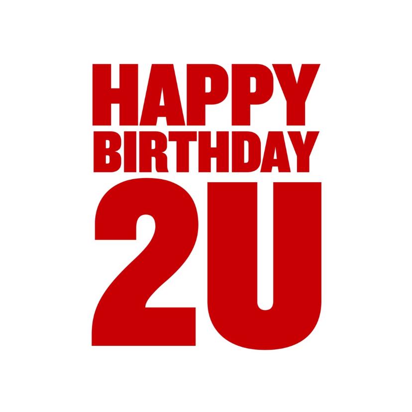 Verjaardagskaarten - Verjaardagskaart to you - LB