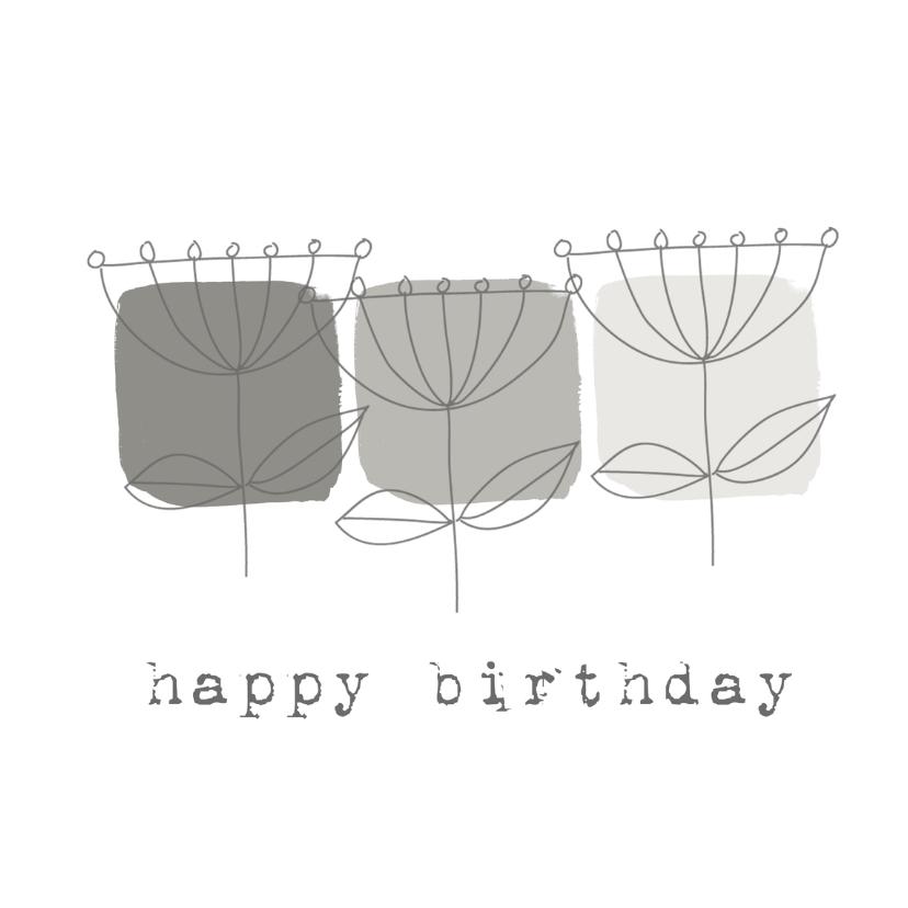 Verjaardagskaarten - Verjaardagskaarten Trendy1 YO