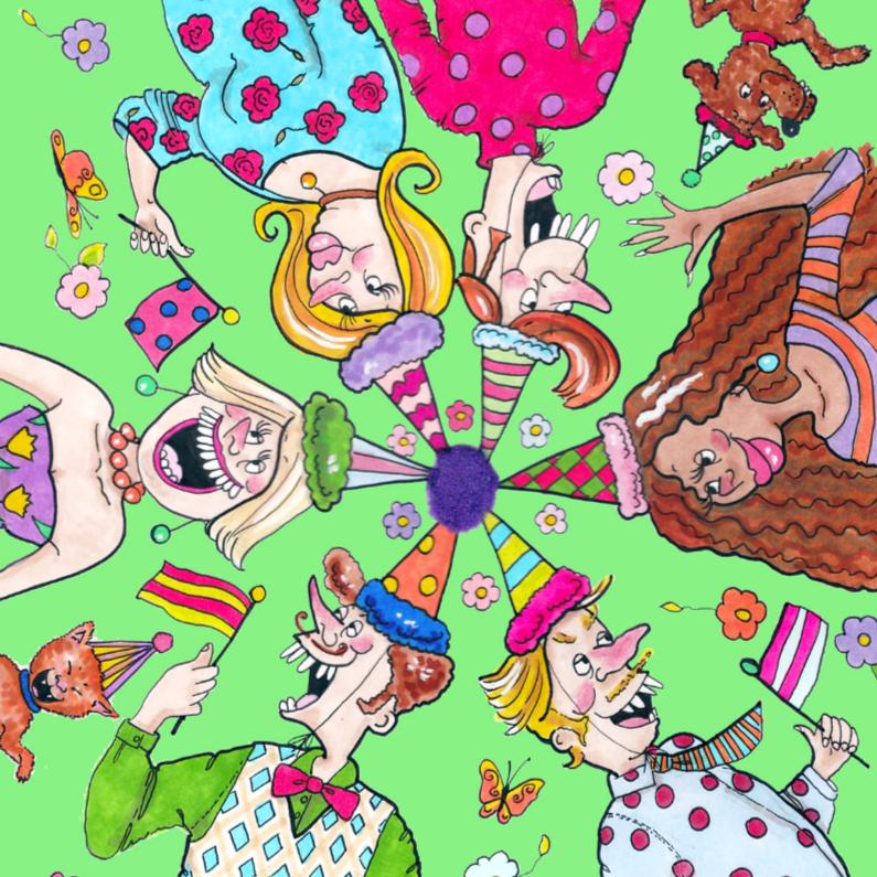 Verjaardagskaarten - Verjaardagsrondje