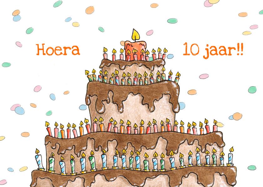 Verjaardagskaarten - Verjaardagstaart_LS