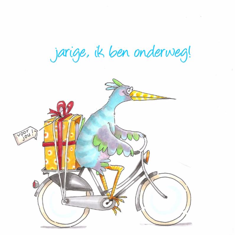 Verjaardagskaarten - Verjaardagsvogel