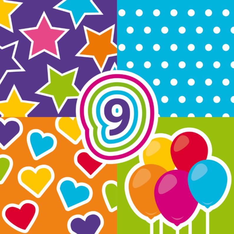 Verjaardagskaarten - vrolijk gefeliciteerd 10a