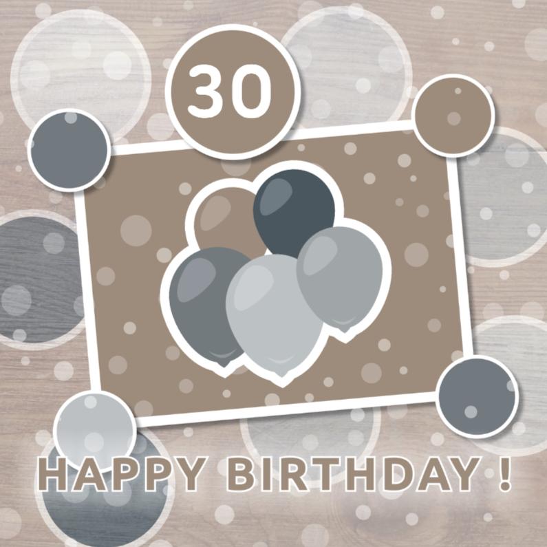 Verjaardagskaarten - Vrolijk Gefeliciteerd 23