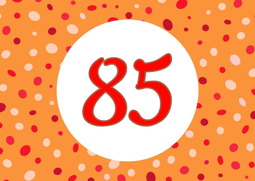 Verjaardagskaarten - Zelf in te vullen verjaardagskaart