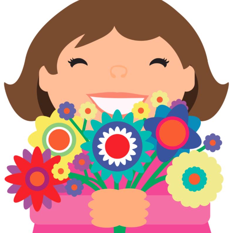 Vriendschap kaarten - Alies Design bloemen 4