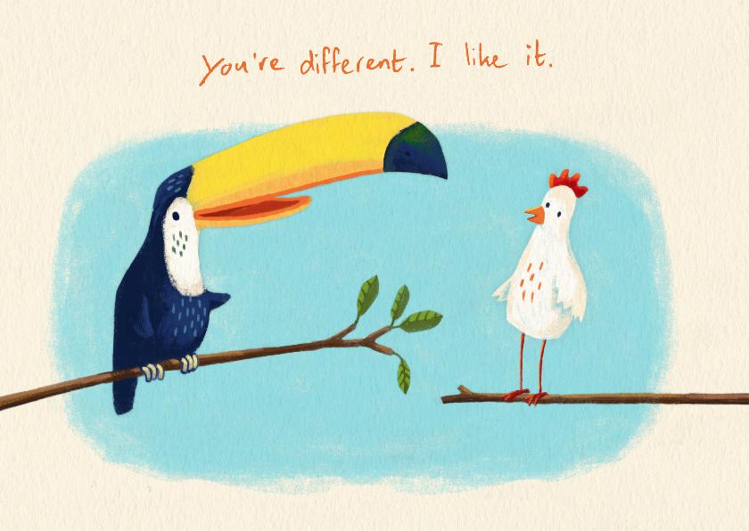 Vriendschap kaarten - Jij bent speciaal - vriendschap kaart