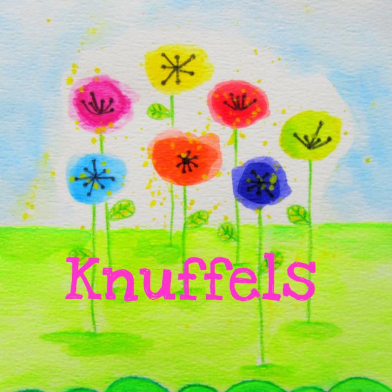 Vriendschap kaarten - Knuffels Bloemen