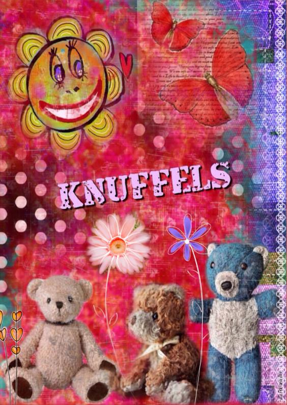 Vriendschap kaarten - Knuffels Mixed Media