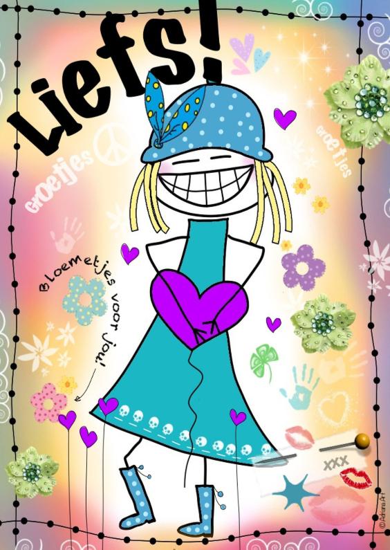 Vriendschap kaarten - Liefs H4Y