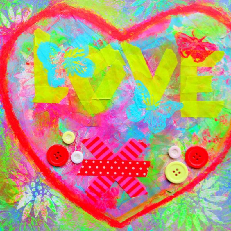 Vriendschap kaarten - Love connection