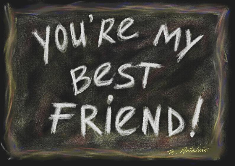 Vriendschap kaarten - Nathalie Antalvari BestFriend