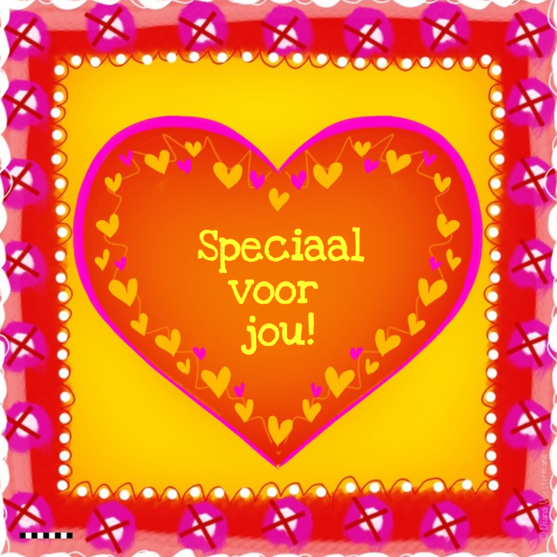 Vriendschap kaarten - Speciaal voor jou hart