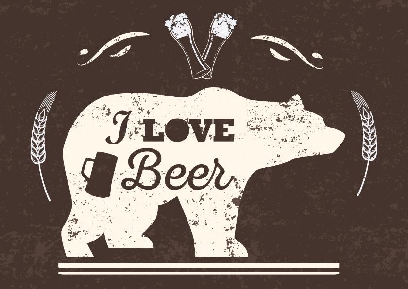 Vriendschap kaarten - uitnodiging bier feest ME