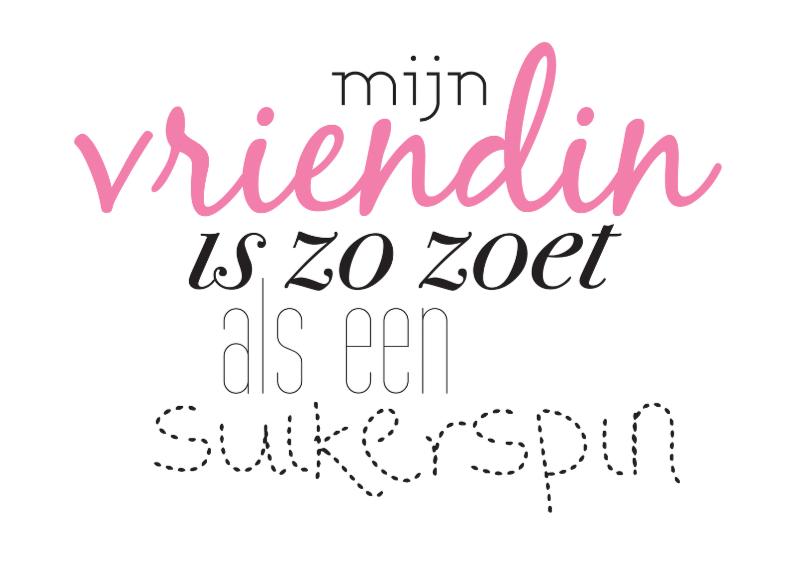 Vriendschap Suikerspin 1